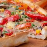 Pizza — Stock Photo #8563198