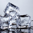 Ice cubes - Foto de Stock