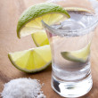 Cold tequila shots — Stock Photo #8584017