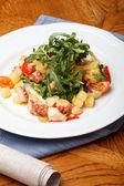 Salad of octopus — Stock Photo