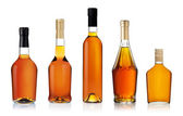 Set of Bottles isolated on white background — Stock Photo