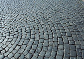 Cobbles in the square — Stock Photo