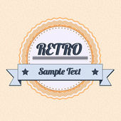 Vintage badge — Stock Vector