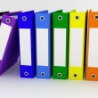 Folders for papers on a white background — Stock Photo #10330395