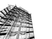 Abstract skyscrapers — Stock Photo