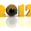 Royalty-Free Stock Photo: 2012 year