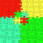 Color puzzle — Stock Photo #8366429