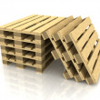 Wooden pallets — Stock Photo #8366573