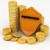 Protection of money and payments — Stock Photo