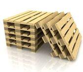 木製パレット — ストック写真