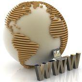 Conceito de internet — Foto Stock