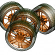Stock Photo: Wheels