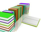 :Pile of books — Foto Stock