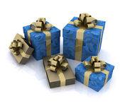 Scatole regalo bellissimo — Foto Stock