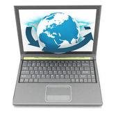 Computadores portáteis — Foto Stock