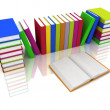 Pile of books - Stock Photo