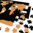 Puzzle map of the world — Stock Photo #8391257