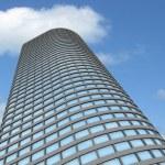 Skyscrapers. 3d render — Stock Photo