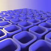 青色のブロック — ストック写真