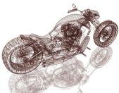 モーター サイクル ストリート ・ ファイター — ストック写真