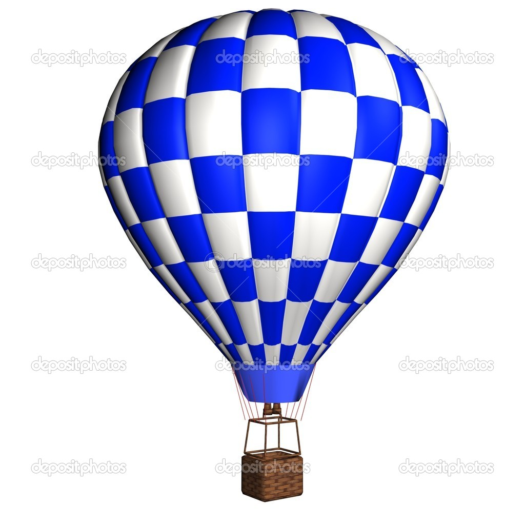 3d modell hei luftballon stockfoto 3ddock 8391293. Black Bedroom Furniture Sets. Home Design Ideas