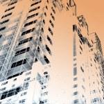 近代建築の背景 — ストック写真