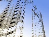 Modern architecture background — Stock Photo