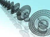 Antenne parabolique — Photo