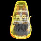 Modèle de voiture 3d — Photo