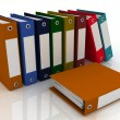 Office folders — Stock Photo #8537458
