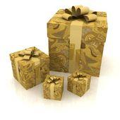 Piękne pudełka — Zdjęcie stockowe