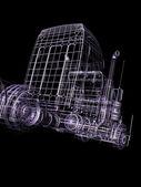 3d truck — ストック写真