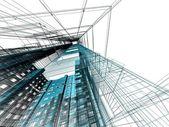 Grattacieli astratte — Foto Stock