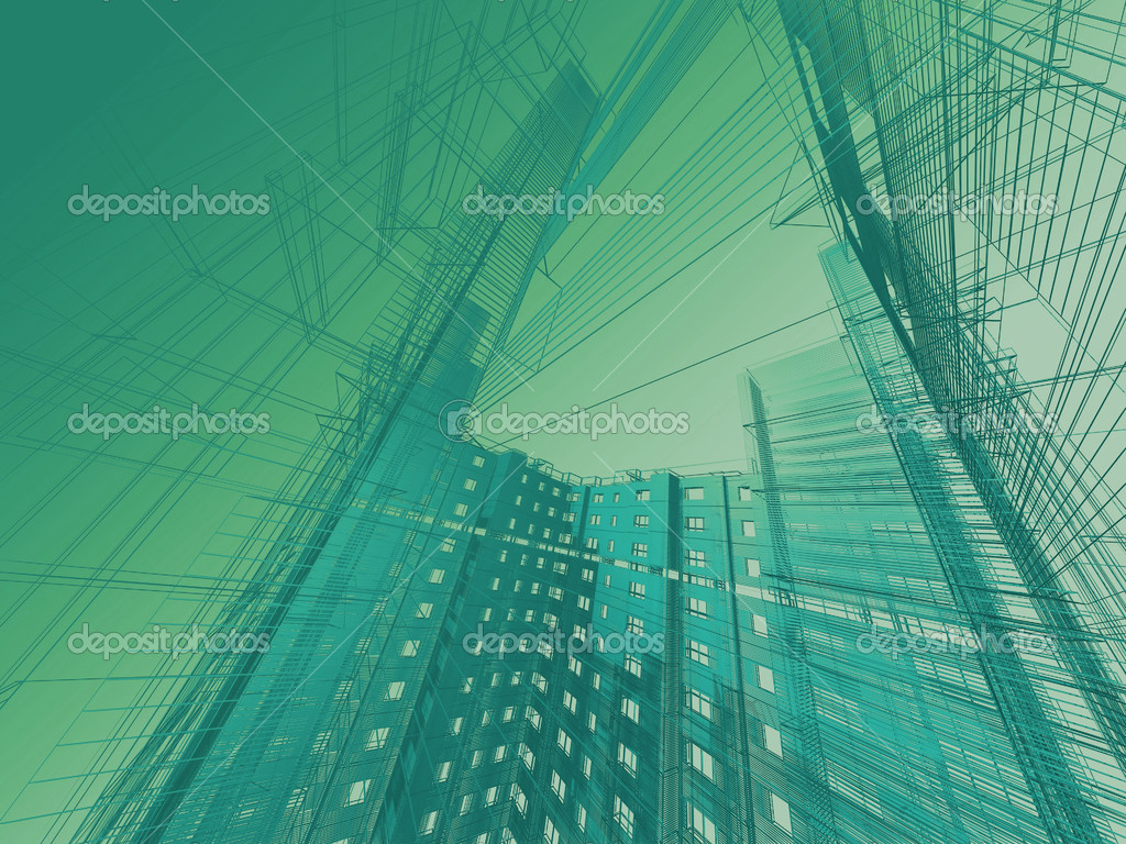 Abstract modern architecture — Stock Photo #8679736