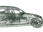 Car model — Stock Photo
