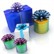 Gift boxes — Stock Photo #8757022