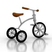 Children bicycle — Stock Photo