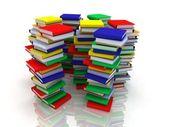 Stacks of books — Stockfoto