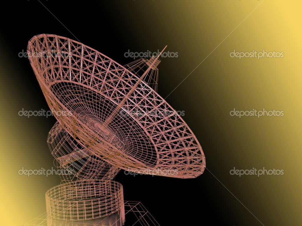 Satellite dish — Stock Photo #8809690