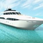 Cruise yacht — Stock Photo #8960419