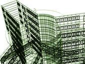 Arquitectura 3d — Foto de Stock