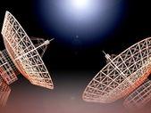 Satellite dish — Stock Photo