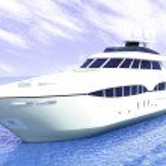 Luxury white cruise yacht — Stock Photo #9101707