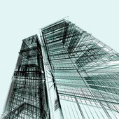 Abstract modern architecture — Stock Photo