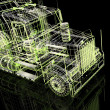 Foto de Stock  : 3d automobile