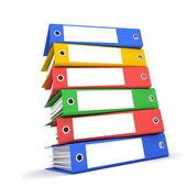 Folders — Stock Photo