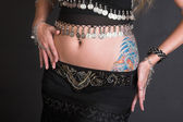 Belly Dancer Body — Stock Photo