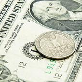 Quarter dollar — Stock Photo