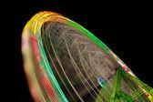 Wheel motion — Stock Photo