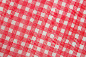 Square tablecloth — Stock Photo
